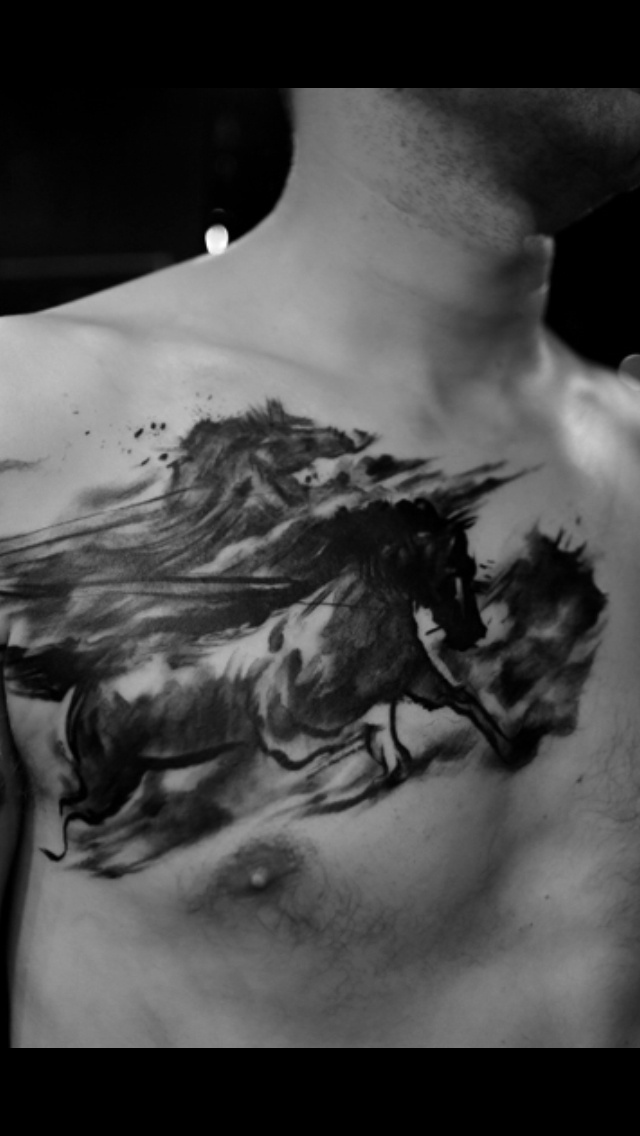 Horse tattoo tattoos pinterest wild horses tattoos for Wild horse tattoo