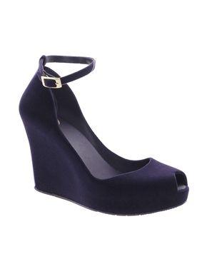 Image 1 ofMelissa Patchuli Purple Heeled Sandal