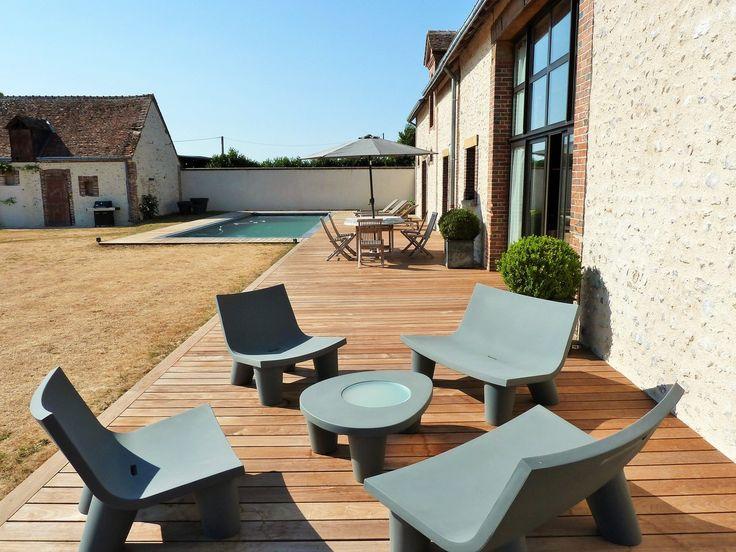 terrasse en bois en Ipe lisse clipsé posée à chartres 28. Terrasse ...