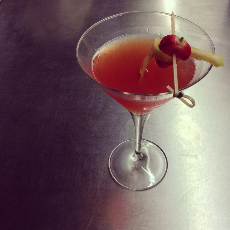Dazed & Infused - Capsicum infused gin Strawberry & lemon infused vodka Sticky wine, stirred over ice