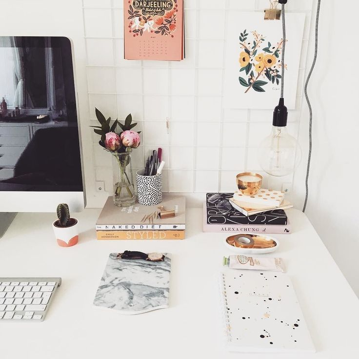 More interiors inspo for you over on my channel! Styling your workspace http://youtube.com/katelavie by kate.lavie