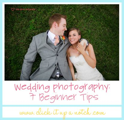 Photo Friday: These beginner tips are imperative to know for first-time wedding photographers! #tips #photography
