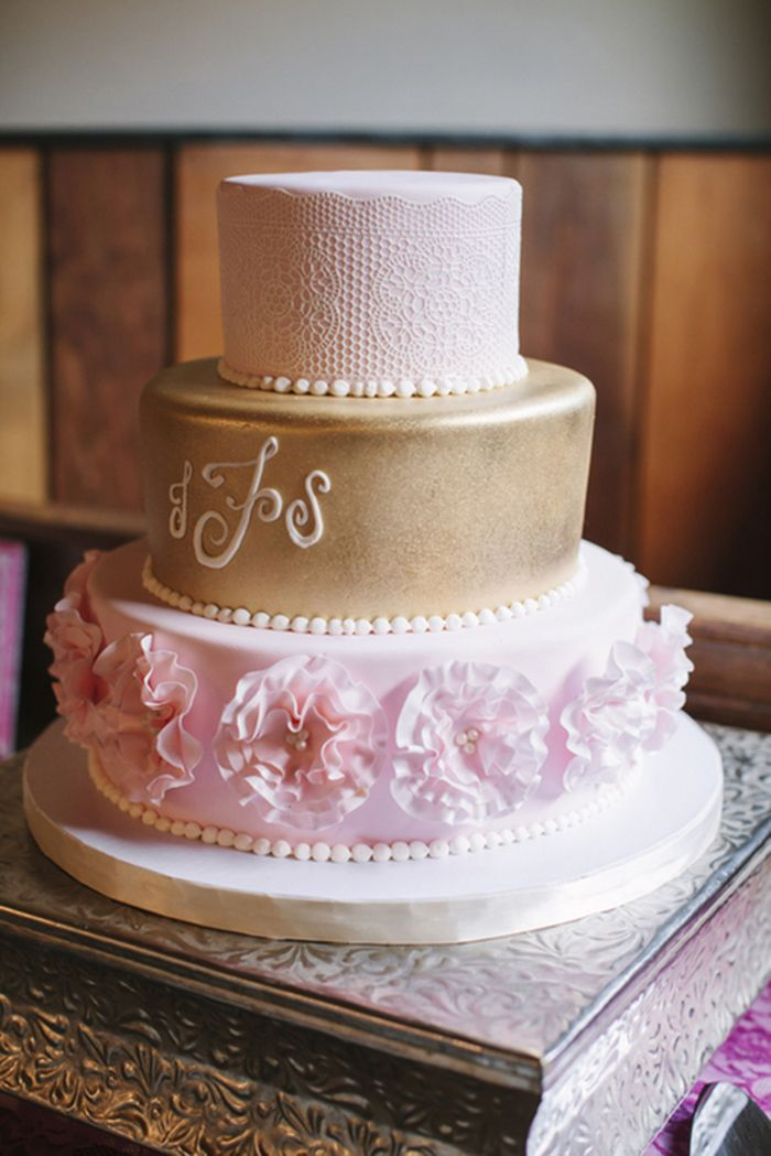 pink and gold wedding cake 111 best lace wedding cakes images on 18539