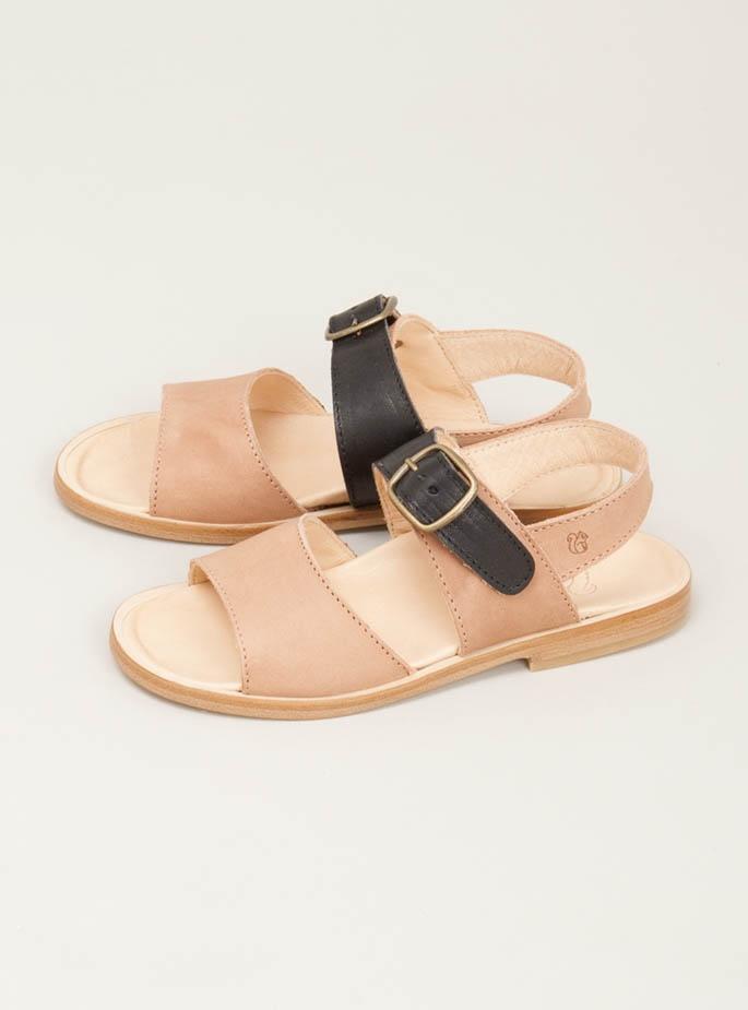 Marta flat leather sandal by Nathalie Verlinden: Chole Esqu Marta Flats, Kids Sho, Marta Sandals, Flats Leather, Leather Sandals, Verlinden Awesome, Thanksmarta Flats, Nathali Verlinden, Grey Leather