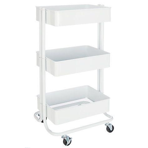 Die besten 25+ Storage trolley Ideen auf Pinterest kleiner Platz - küchenwagen mit schubladen