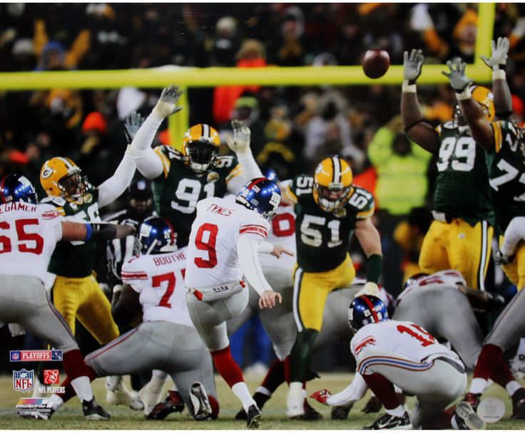 Lawrence Tynes kicking the Giants into the Superbowl over Greenbay. One of my greatest football moments ever!