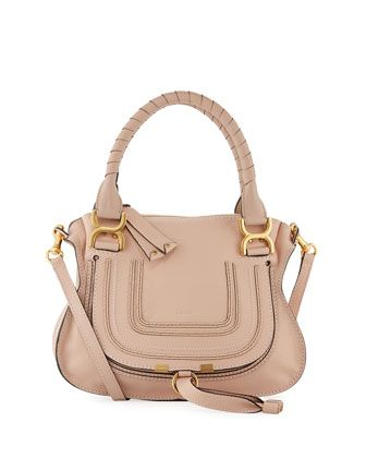 964cbb7840 Marcie+Small+Double-Carry+Satchel+Bag+by+Chloe+at+Bergdorf+Goodman.
