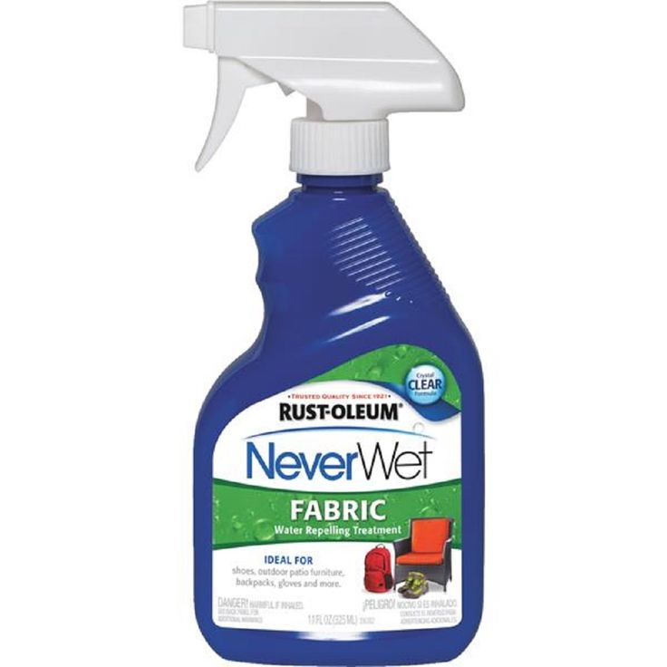 Rust Oleum Never Wet Water Repel Fabric Treatment 11oz 278146 in Home & Garden, Household Supplies & Cleaning, Cleaning Products | eBay