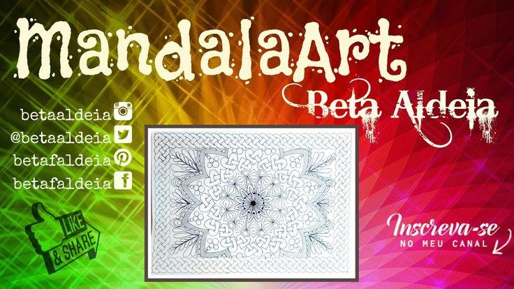 Mandala Art 2 - Celtic Knots - Nós celtas