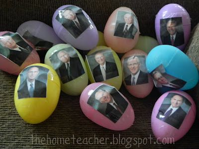 General Conference Easter Egg Hunt - can use during conference or after conference as an FHE Conference Review
