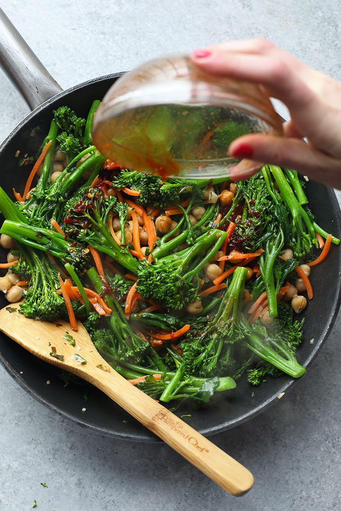 Vegetarian Kung Pao Quinoa Bowls