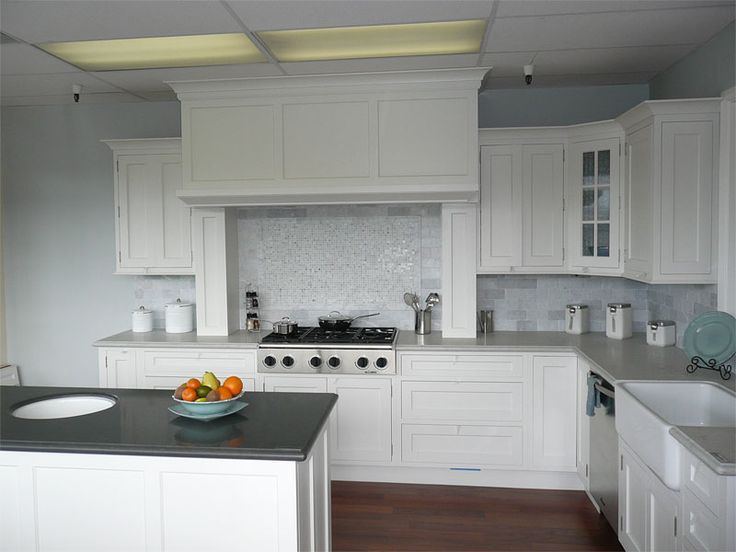 144 Best Images About White Cupboards Stainless Steel On Pinterest Islands Cabinets And Kitchen White