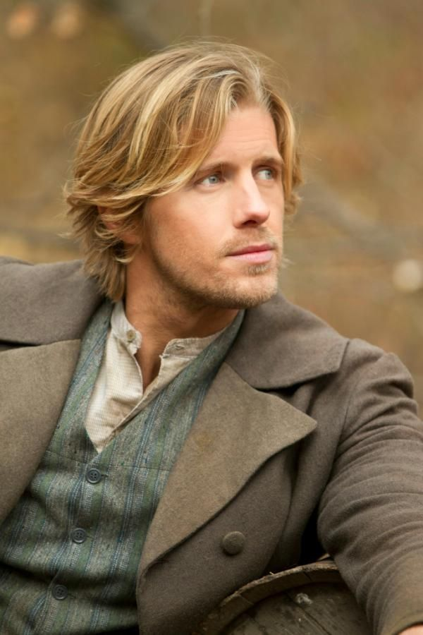 """Tessie Blackman's Matthew Wright (actually actor Matt Barr playing the role of Johnse Hatfield in the """"Hatfields and the McCoys)"""