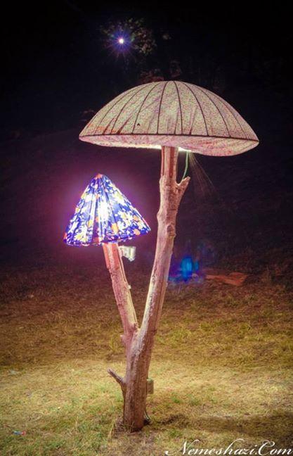 Ozora Festival. Mushroom sculpture http://amzn.to/2s1GFnp