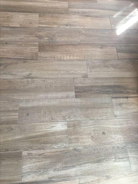 Coastal Farmhouse Wood Look Tile Flooring!