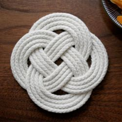 This project is great for creating trivets and placemats, but you could just as easily hang it on your wall. (via desginsponge)