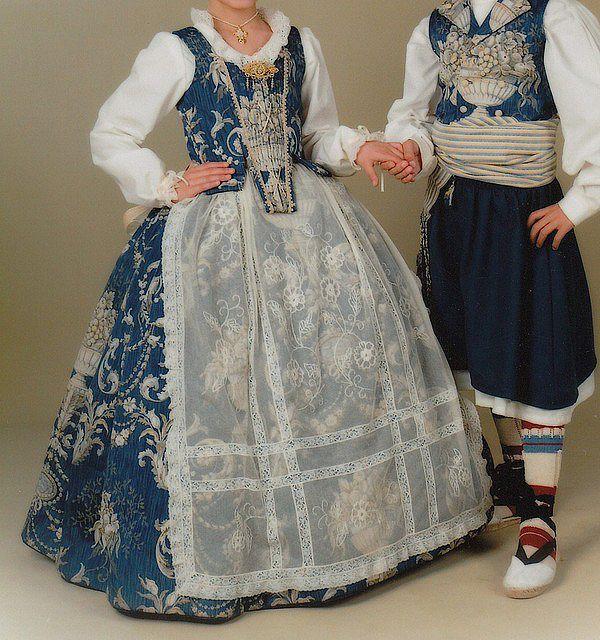 Resultado de imagen de trajes de huertana valenciana