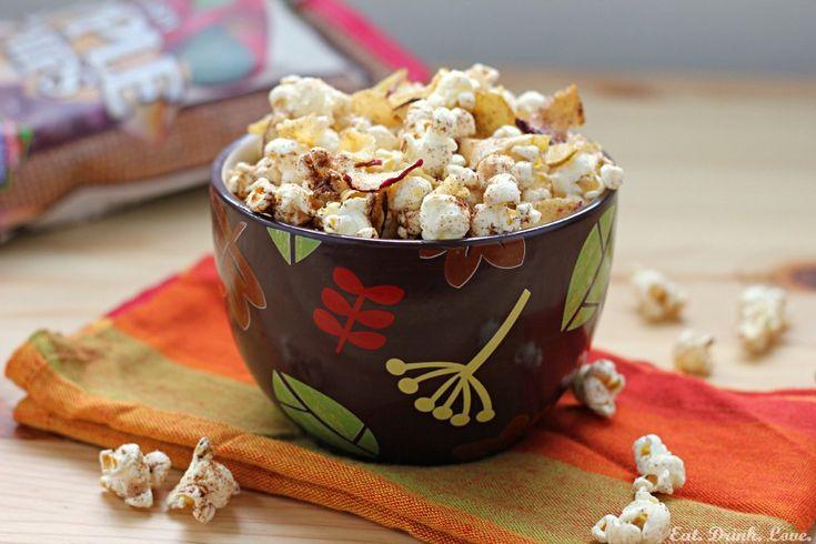 Apple Cinnamon Popcorn (recipe) - a relatively healthy twist on flavored popcorn.