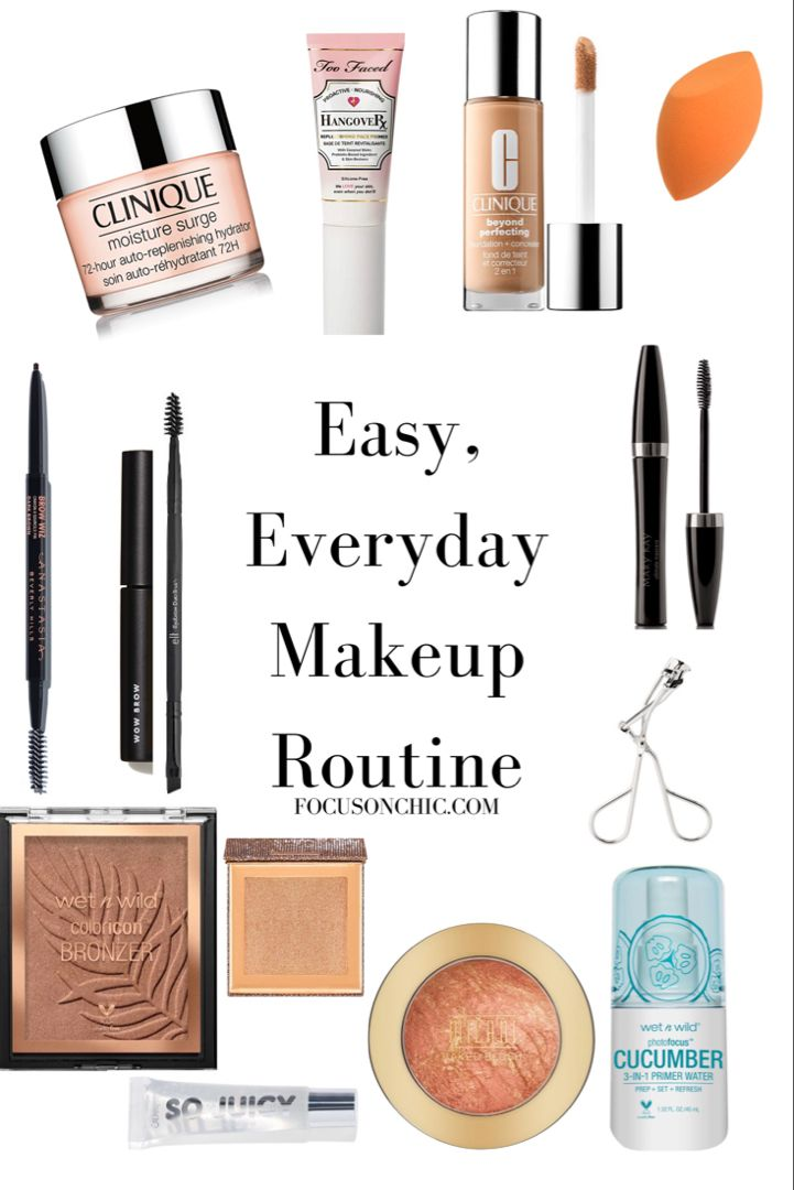 Super Easy Everyday Makeup Routine That Will Take Less Than 15