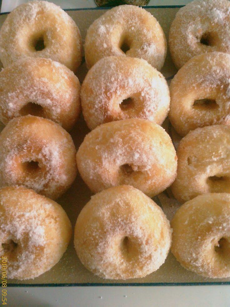 Hidup Semanis Cupcake: ~~~Resipi Donut Gebu, Lembut~~~