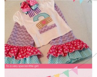 Doc McStuffins Birthday Outfit by CherryBarnOriginals on Etsy