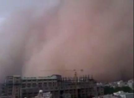 Una Tormenta De Arena Gigante Mató A Cuatro Personas En Irán #Video