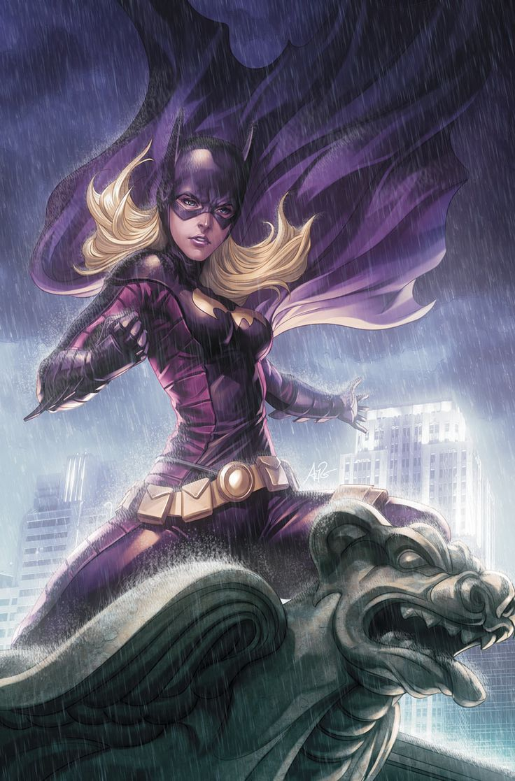 "Batgirl #9 Cover by Comic Artist Stanley ""Artgerm"" Lau. #Comics #Illustration #Drawing"