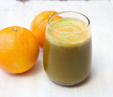 Cleansing Carrot, Orange, Kale, Lemon & Ginger Juice
