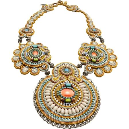 The Santa Fe Necklace by Dori Csengeri