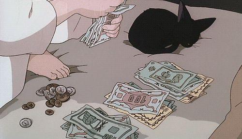 (1) Tumblr - GIF- Kiki' delivery service- Studio Ghibli