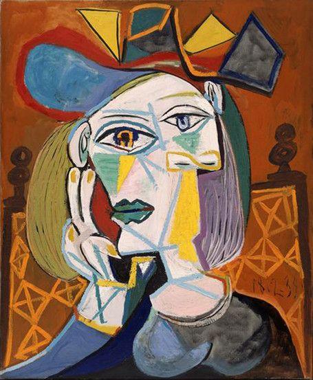 Image : Dans l'intimit de Pablo Picasso : l'amour en fond de toile ... | Soyut sanat, Sanat ...