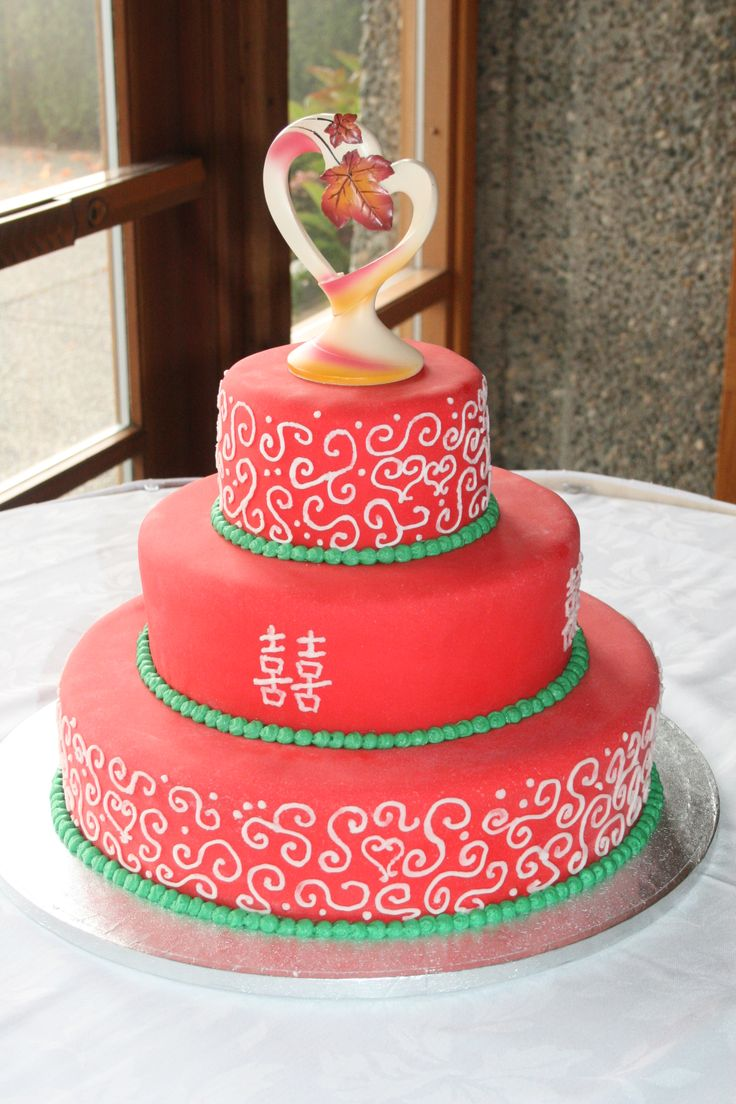 Cake ideas on pinterest pirate cakes marshmallow fondant and - Chinese Themed Wedding Cake Vanilla Cake With Raspberry Filling Iced With Butter Cream Raspberry Fillingmarshmallow Fondantvanilla