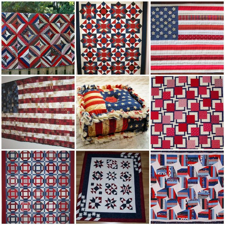 quilting white black thread blue quilt and red quilts