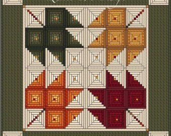 Log Cabin Quilt Pattern Log Cabin Carpenter Star K…