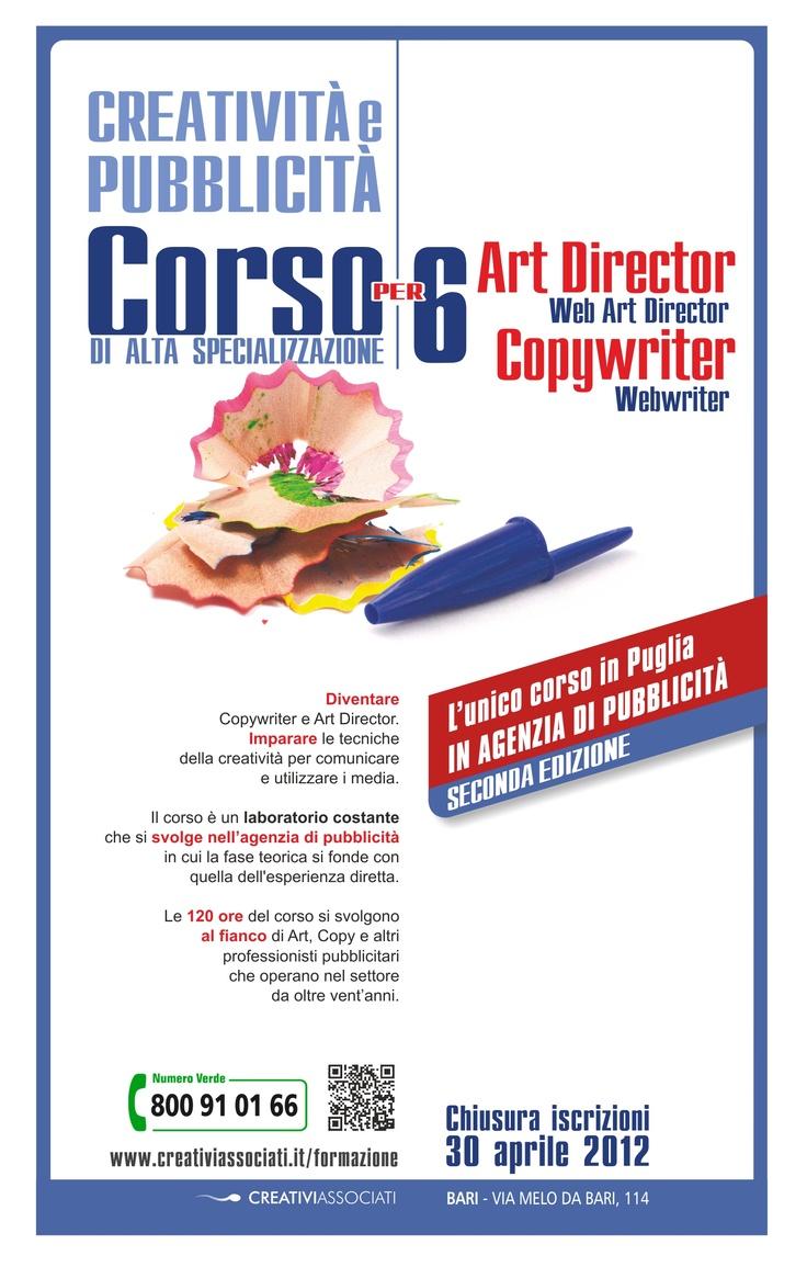 Corso di Alta Specializzazione per Art Director e Copywriter