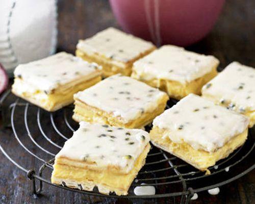 Easy slice recipes - Vanilla Slice