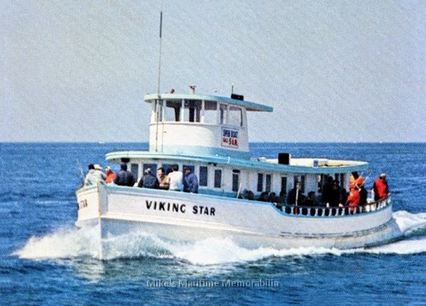 Viking star montauk ny 1960 lobster fishing for Montauk fishing party boats