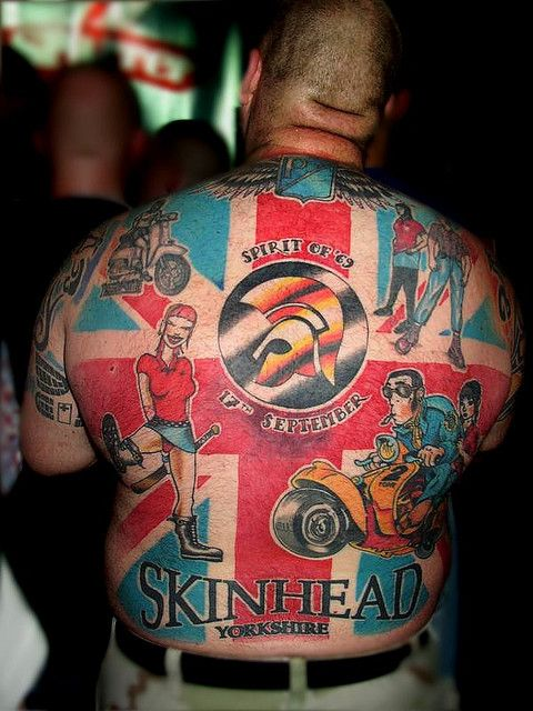 Skinhead Tattoos | Recent Photos The Commons Getty Collection Galleries World Map App ...