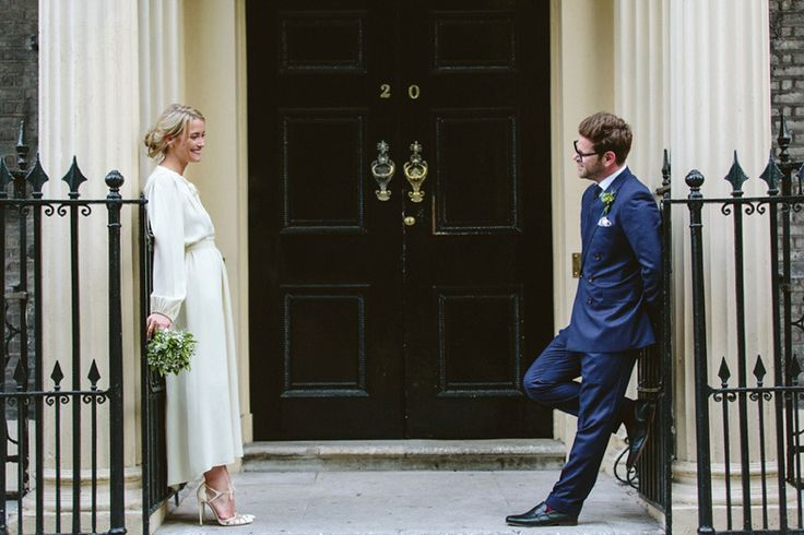 A 1970's Ossie Clarke Dress for an Elegant Jewish and Christian Wedding at Home House London | Love My Dress® UK Wedding Blog