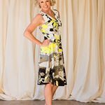 Patchwork midi dress for hire from dressatmine by DExterior This will turn heads perfect for the races Sizes    For enquiries infodressatminecomau dressatmine weekend racewear