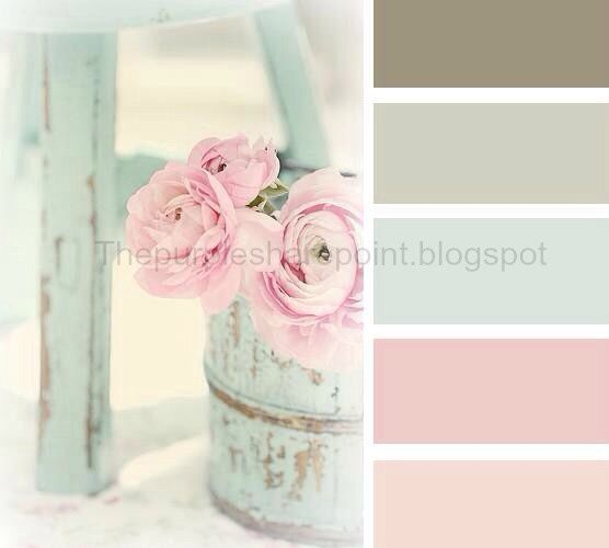 Soft nursery colors that still add contrast for that wow affect.