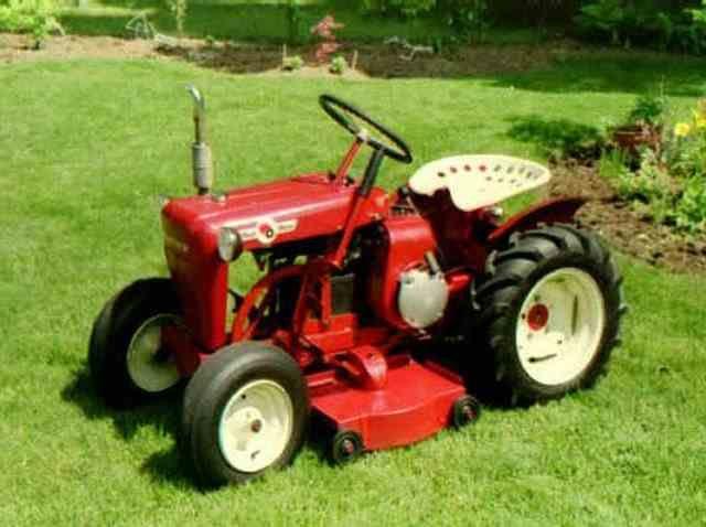 1965 Gravely 4 Wheel Tractor : Best garden lawn tractors images on pinterest