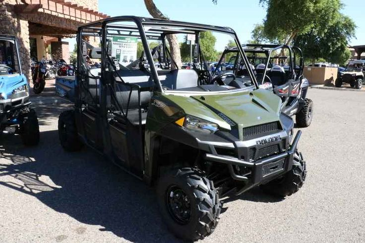 New 2017 Polaris RANGER CREW XP 1000 Sage Green ATVs For Sale in Arizona. 2017 Polaris RANGER CREW XP 1000 Sage Green, 2017 Polaris® RANGER CREW® XP 1000 Sage Green SAGE GREEN <ul><li>World s Most Powerful UTV with 80 HP</li></ul><ul><li>Adjustable Smooth Riding Suspension and Class Exclusive Throttle Control Modes</li></ul><ul><li>Industry Exclusive Pro-Fit Cab Integration and Hundreds of Accessories Options</li></ul><p> Features may include: </p> HARDEST WORKING FEATURES <ul><li>WORLD'S…