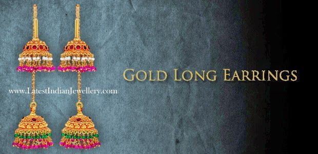Front and Back Jhumki Earrings | Latest Indian Jewellery Designs