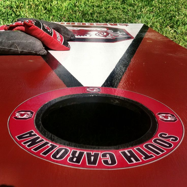 "Day 1 of the #UofSCPhotoADay challenge: the letter ""C."" #Cornhole is a favorite among Carolina fans in spare time or while prepping for a Gamecock Football game.: Carolina Fans, Spare Time, Gamecock Football, Uofscphotoaday Challenge, Gamecocks Football"