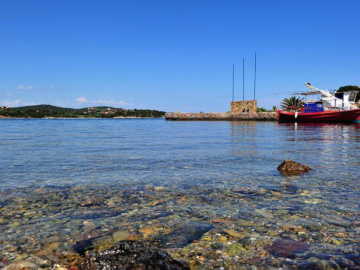 Port of Ammouliani island #Halkidiki #Greece