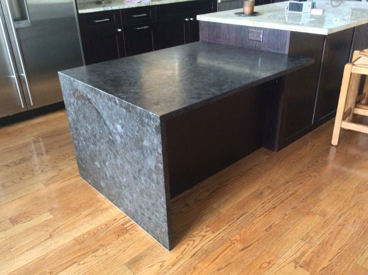 Waterfall Antique Brown Granite With Leather Finish Mjm