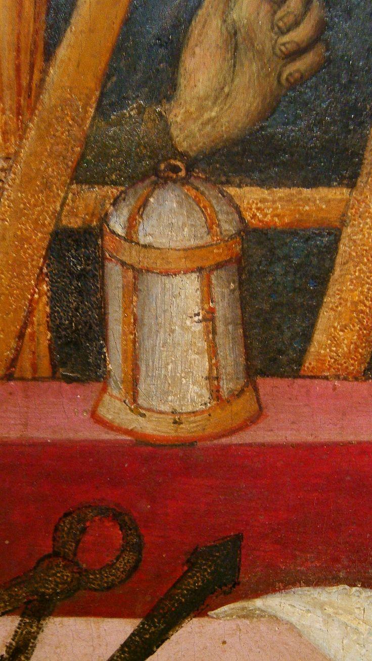 https://flic.kr/p/cfHyW5 | DSCF6739 | BERNAT MARTORELL S. Michele, martirio di S. Eulalia e S. Caterina (dett.) 1442-1445 c. MNAC di Barcellona (inv. 64042)