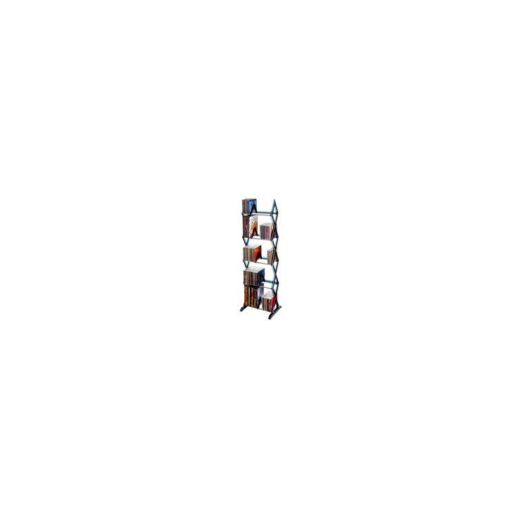 Atlantic Mitsu 5-Tier Media Rack - Smoke, Gray