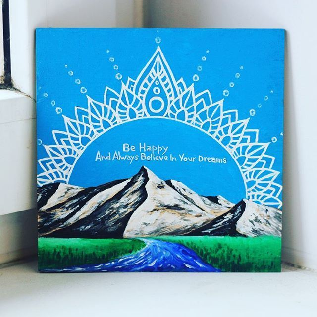 www.etsy.com/shop/MagicMandalaShop  #behappy #painting #etsy #mandala #mandalas #mandala_sharing #art #acrylic #mountainsarecalling #mountains #mountain #beautiful #behappy #river #grass #sky #card #landscape #topcreator #art_we_inspire